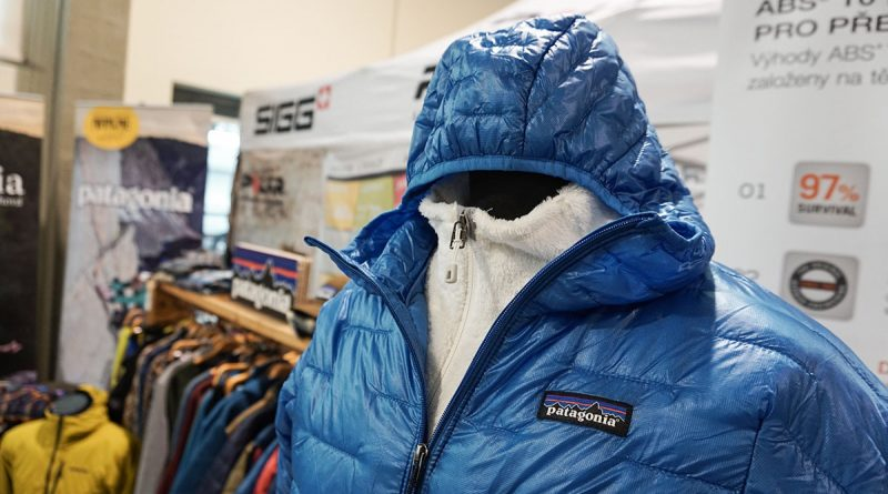 Patagónia Micro Puff zateplená bunda s natiahnutou kapucňou