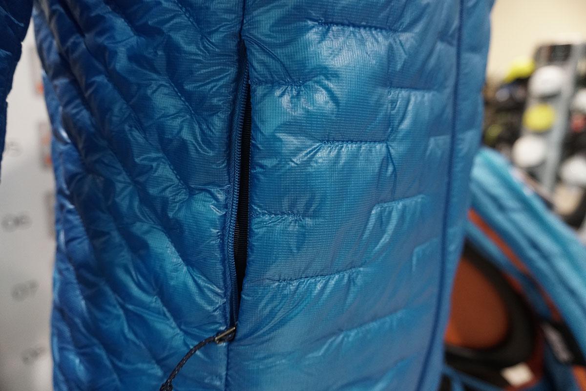 Patagónia Micro Puff zateplená bunda bočné vrecko