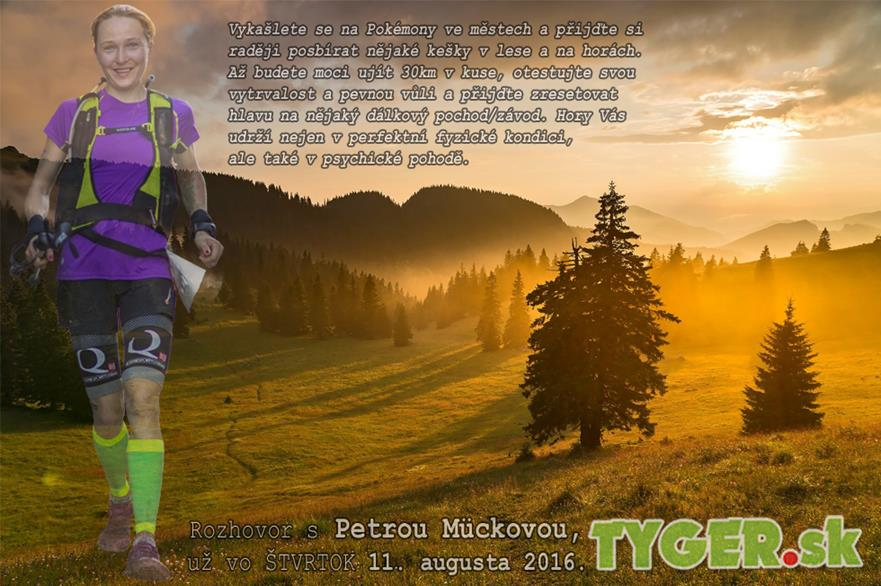 Expresky z hôr 23 - Rozhovor Petrou Mückovou