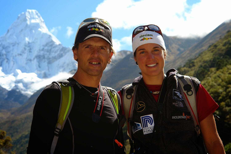 Expresky z hôr 59 - Simone Moro a Tamara Lunger, Photo: Simone Moro, zdroj: altitudepakistan.blogpost.com