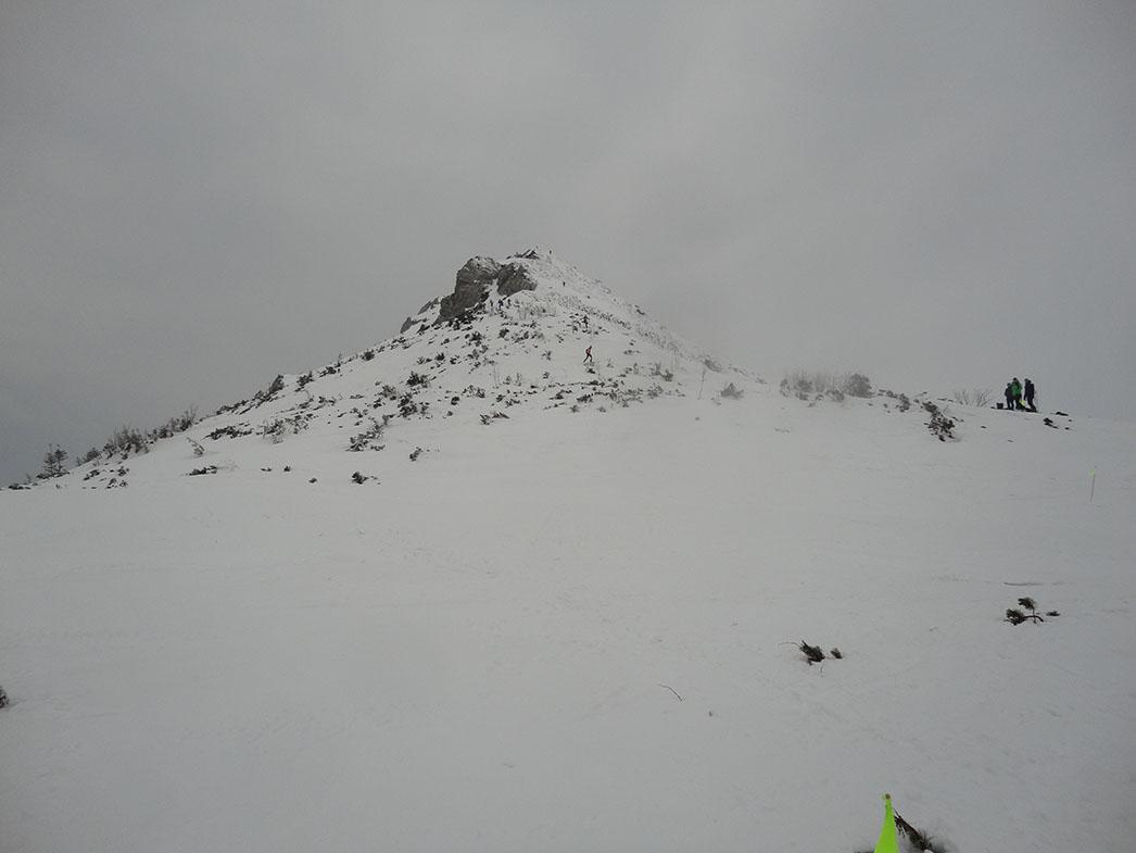 Bokami západných Tatier tretí deň,Sivý vrch. Prvý ktorý sme uvideli a posledný na ktorý sme vystúpili