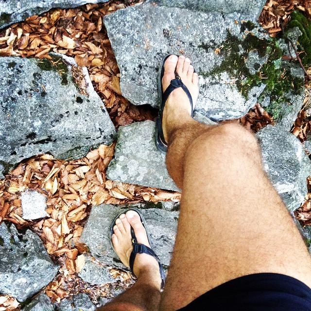 barefoot Luna sandale v akcii