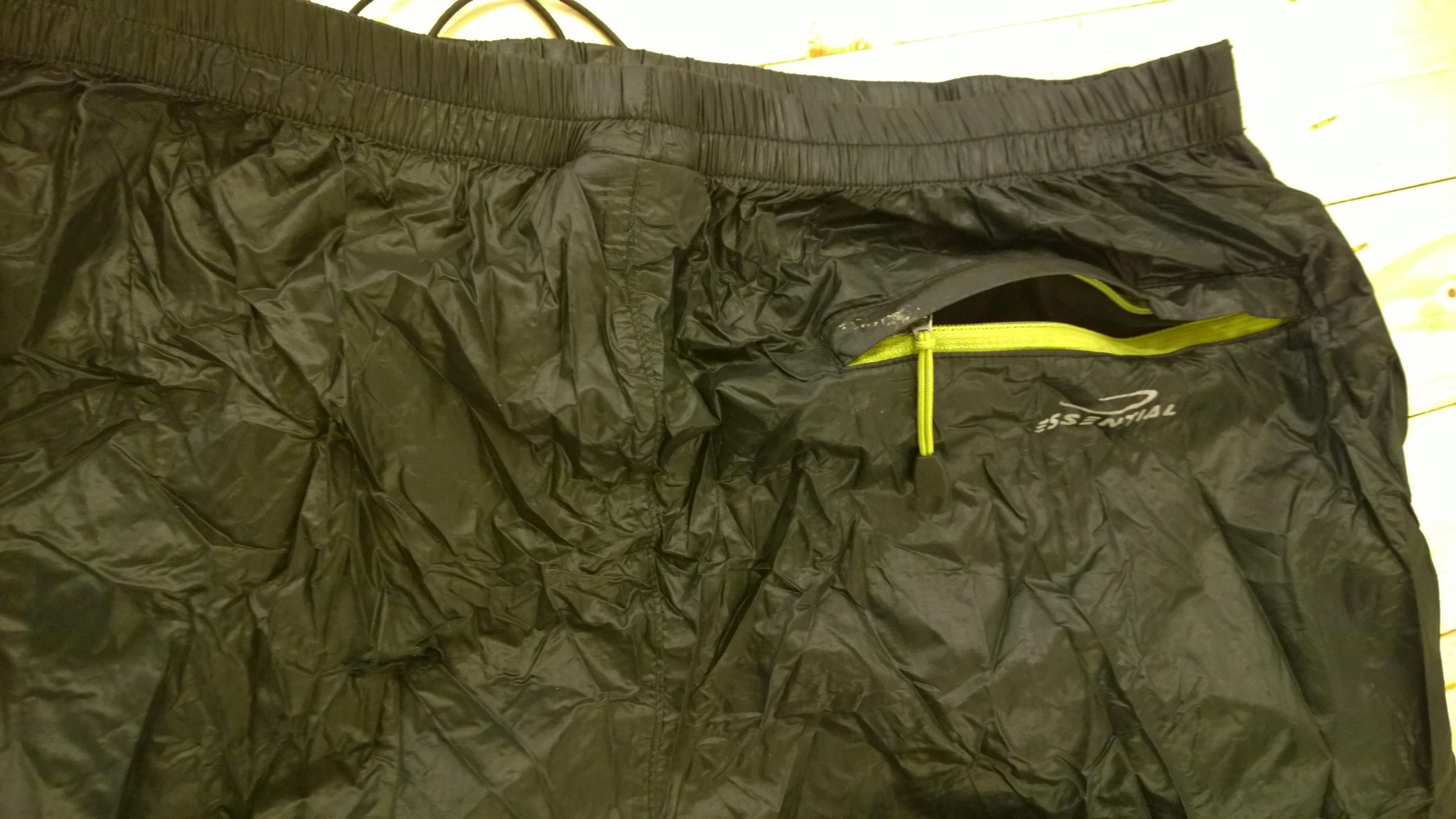 Outdoor recenzia: CAMP Magic Pants, zadné vrecko na zips