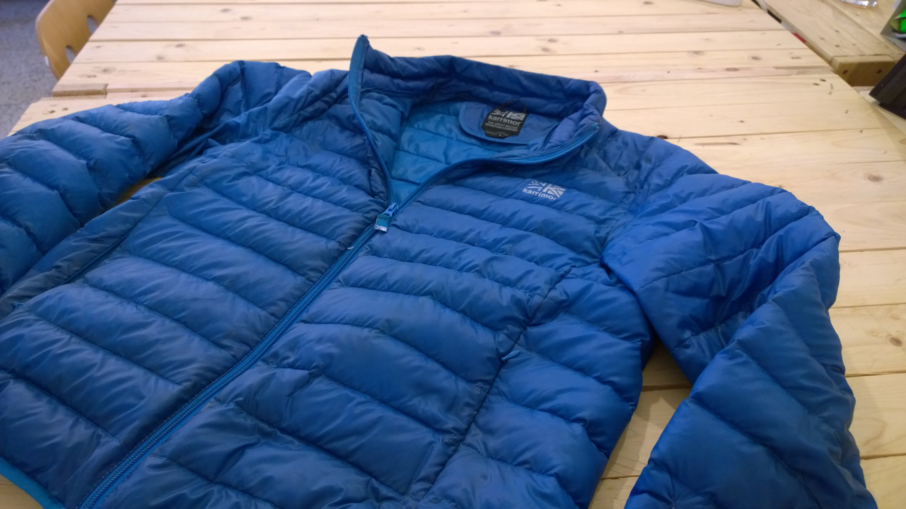outdoor recenzia: Karrimor páperova bunda