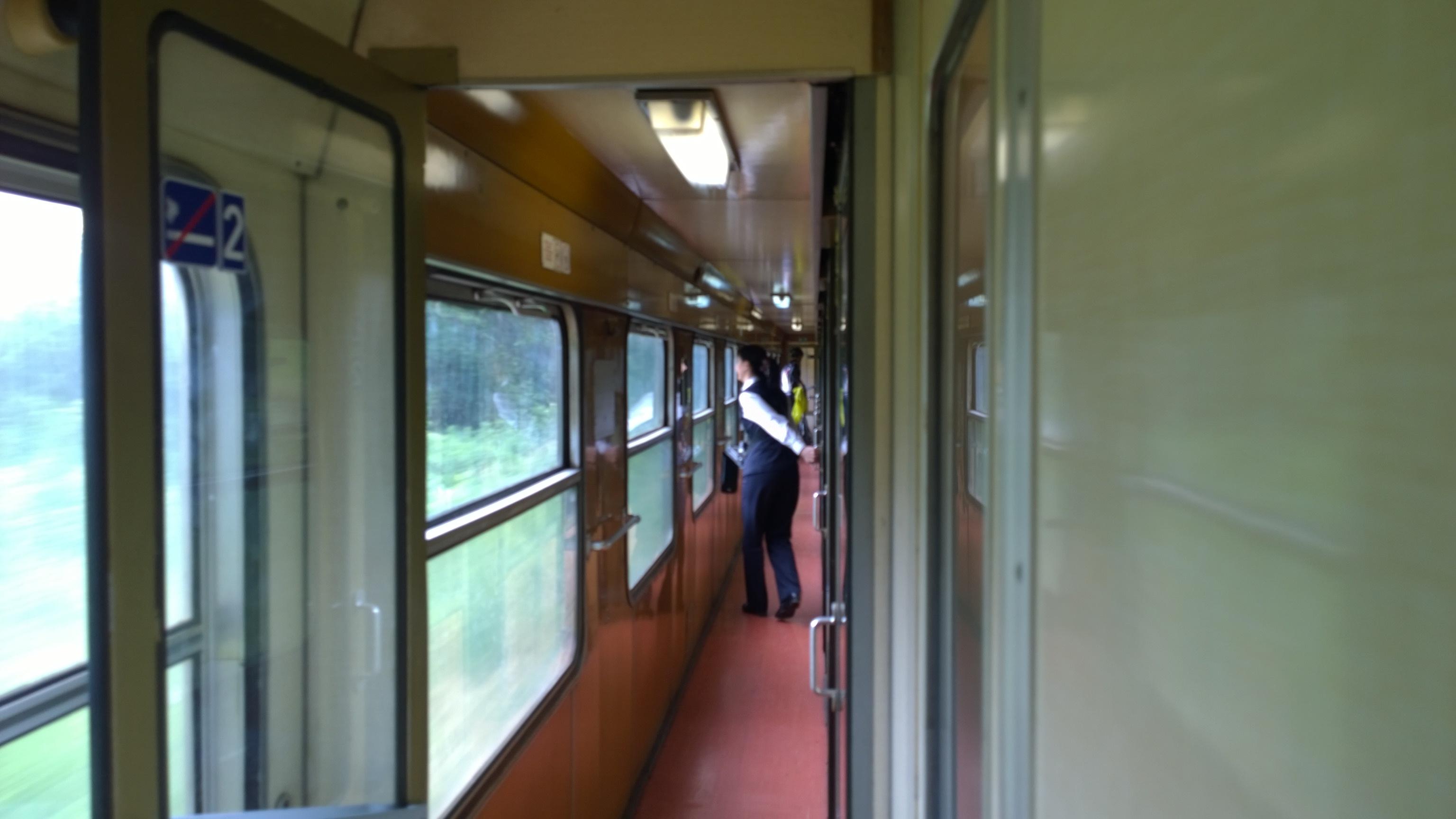 Vo vlaku ako vždy sranda so ZRS smer Horolezecky Rajecky triatlon