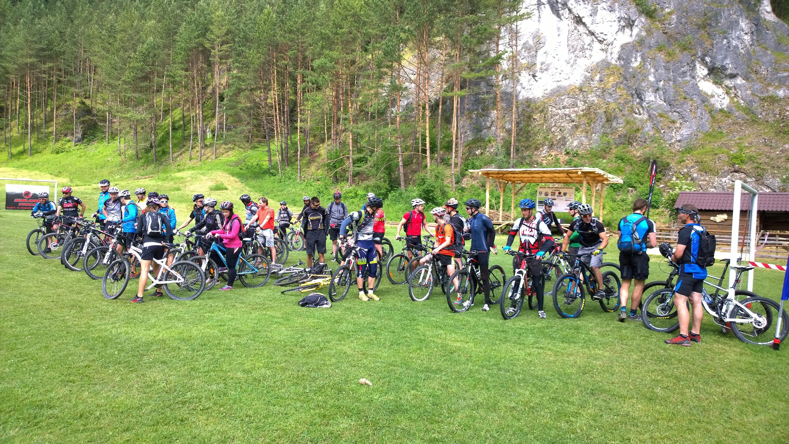 Horolezcky triatlon, vsetci sme uz na starte