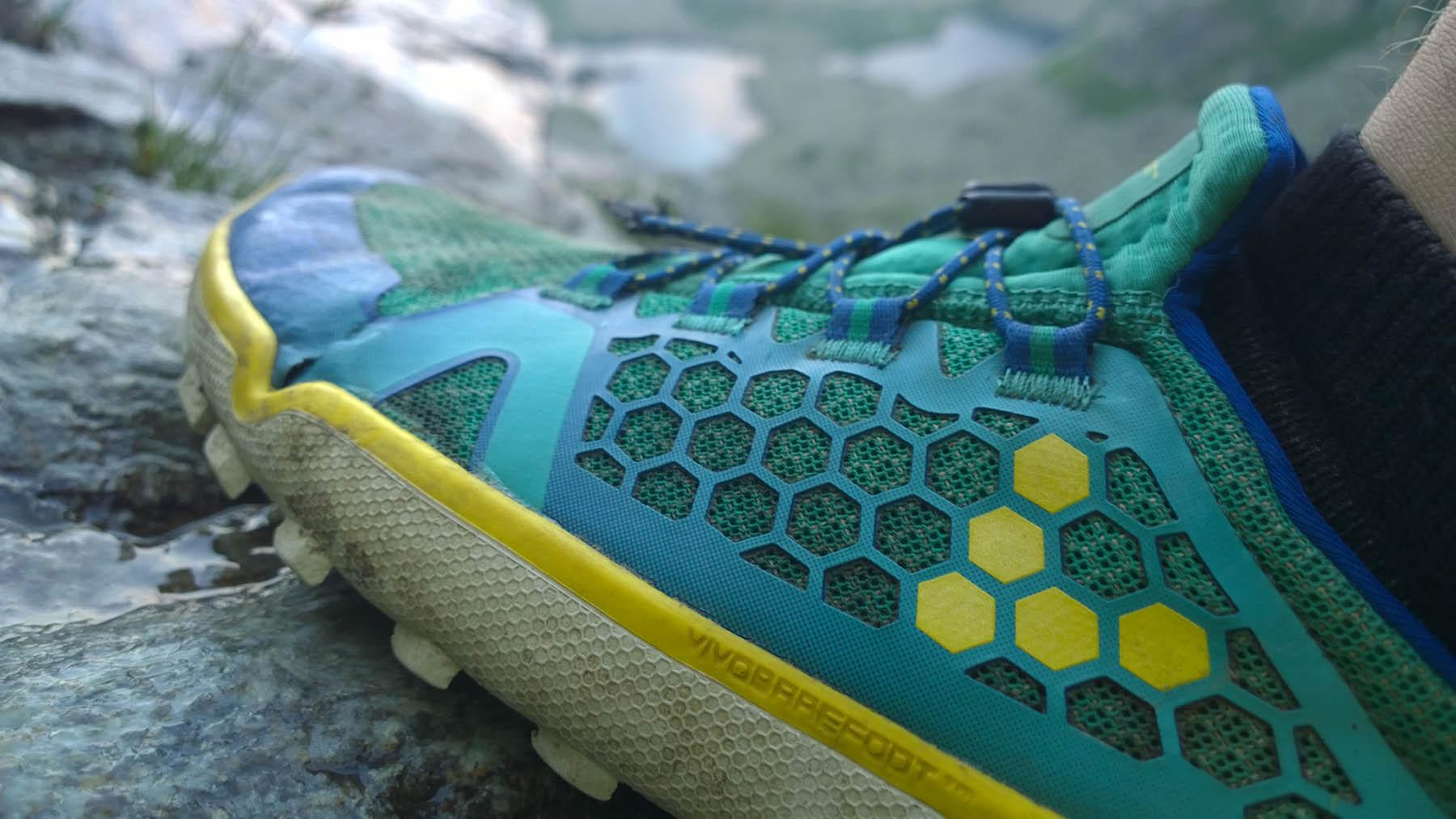trhlinka na ohybe barefootiek trail freak od Vivobarefoot