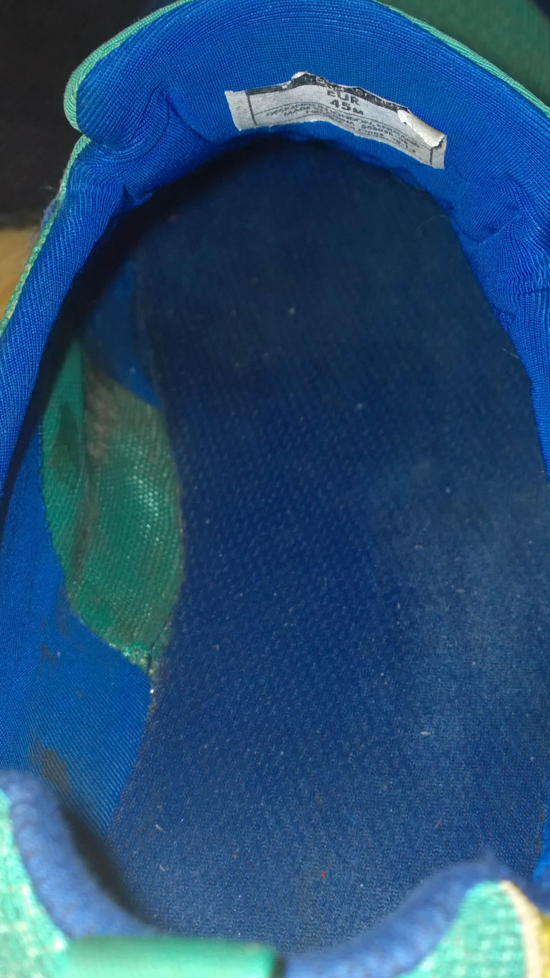 detail vnútra barefootky Trail Freak bez vložky