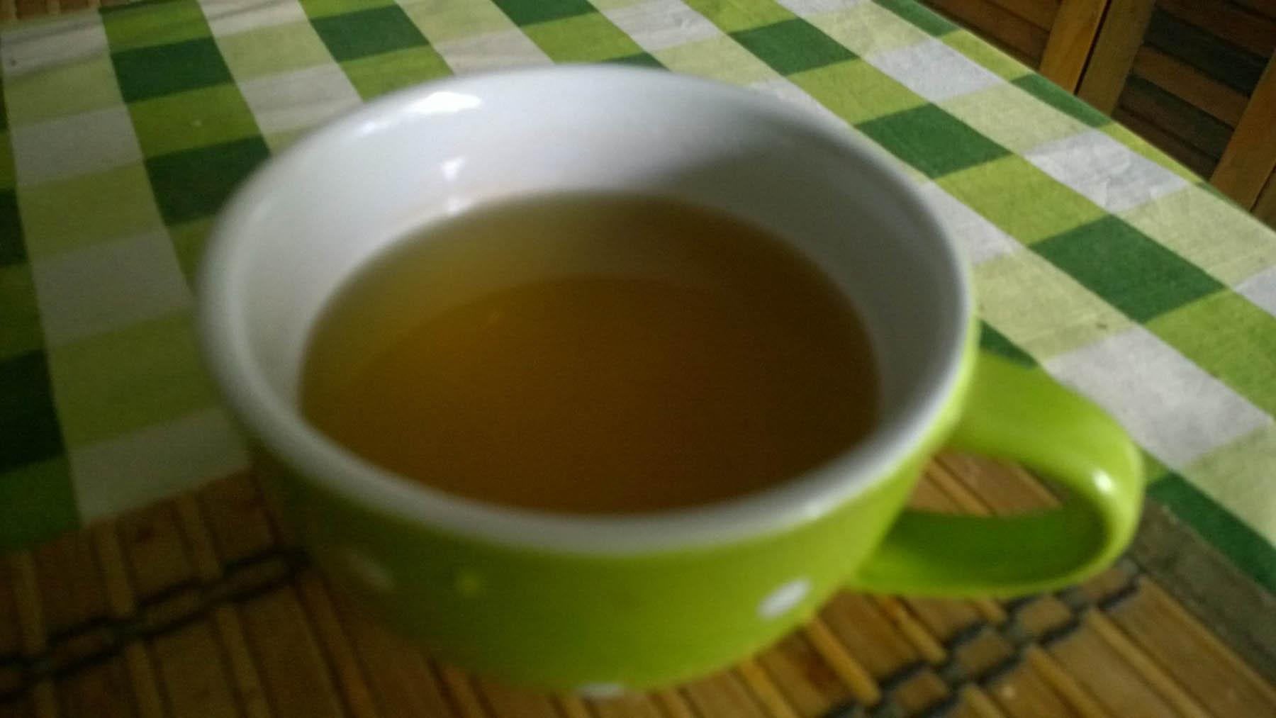 Ranjky so zeleným čajom počas testovanie