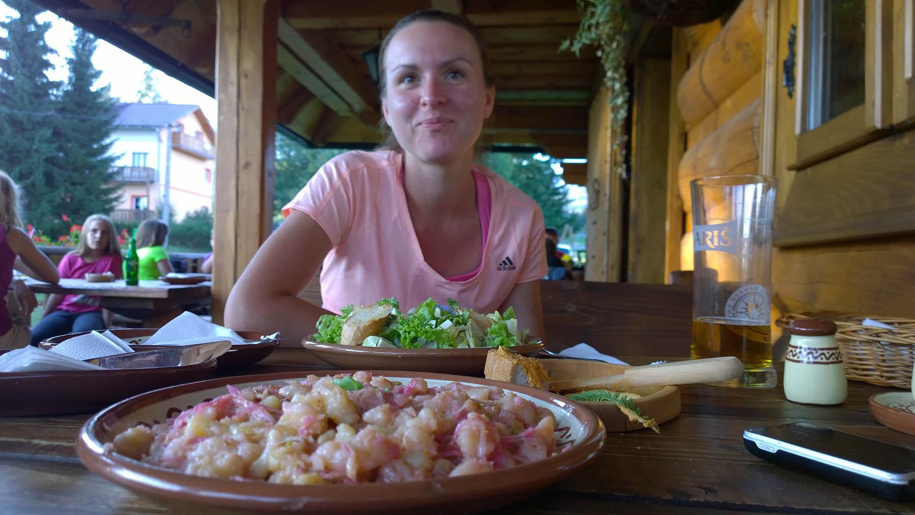 Večera v Kolibe