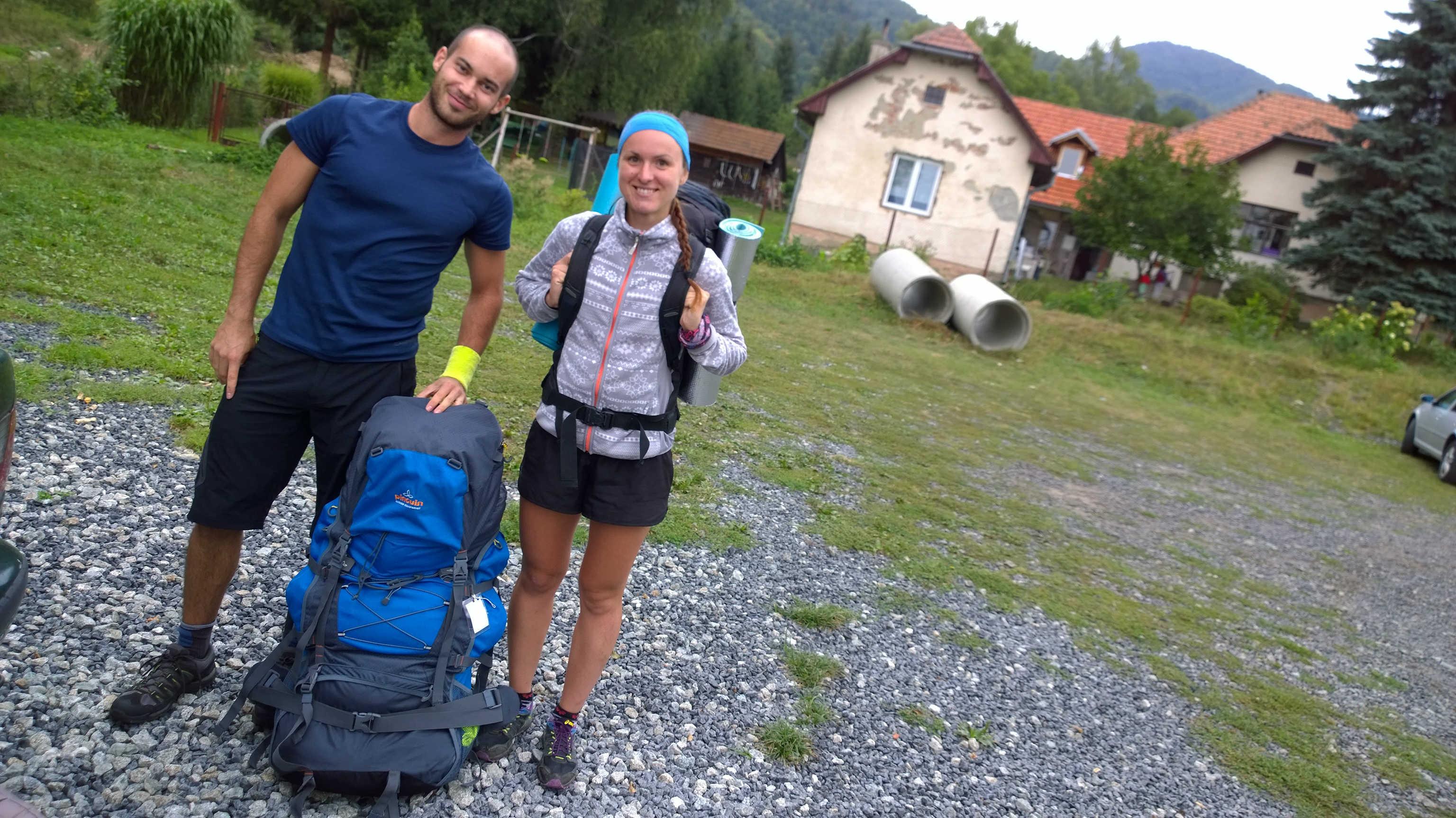 Adik a Bobča pripravený na výnášku pre Magurský projekt