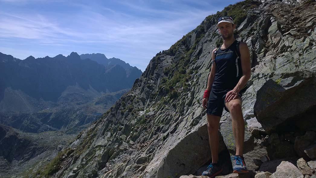 Adidas supernova 7-inch počas výletu vo vysokých Tatrách
