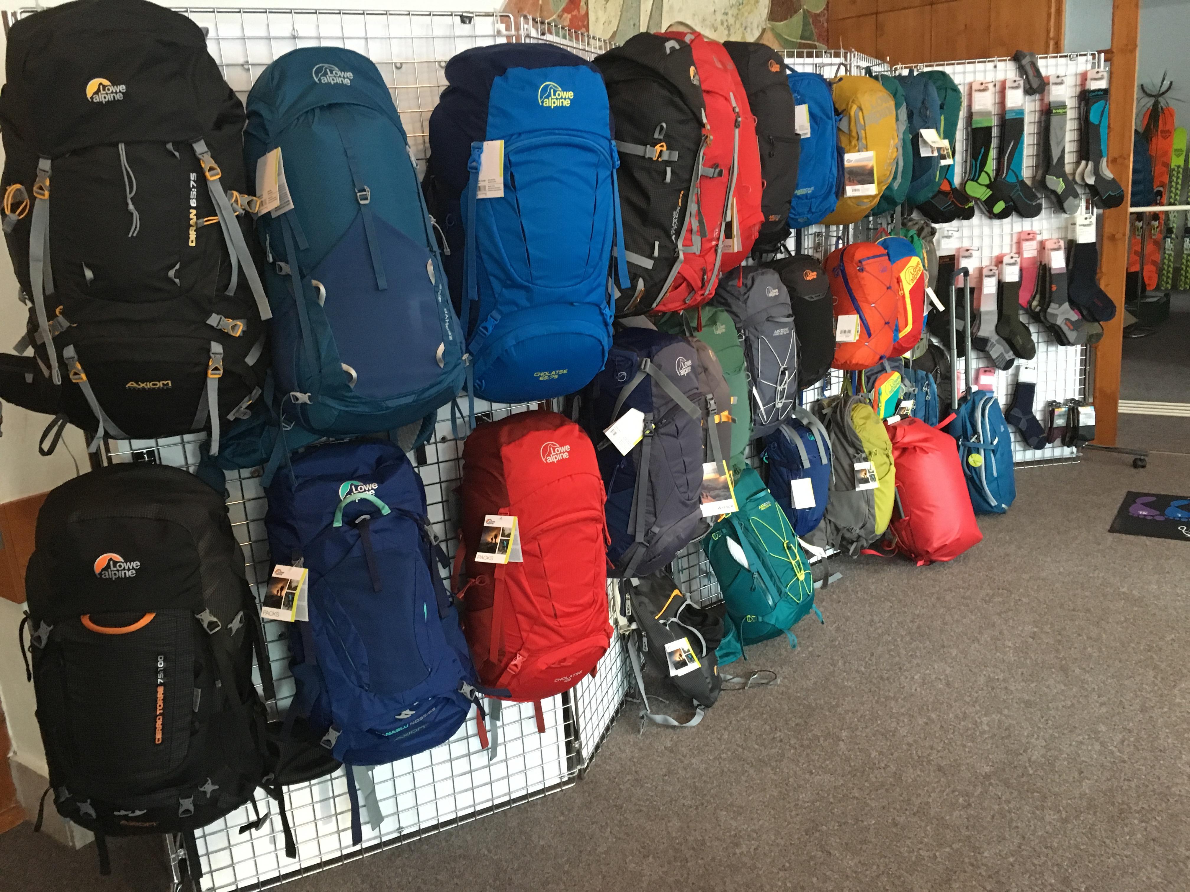 Outdoor výstava 2016 a Alpine Lowe ruksaky