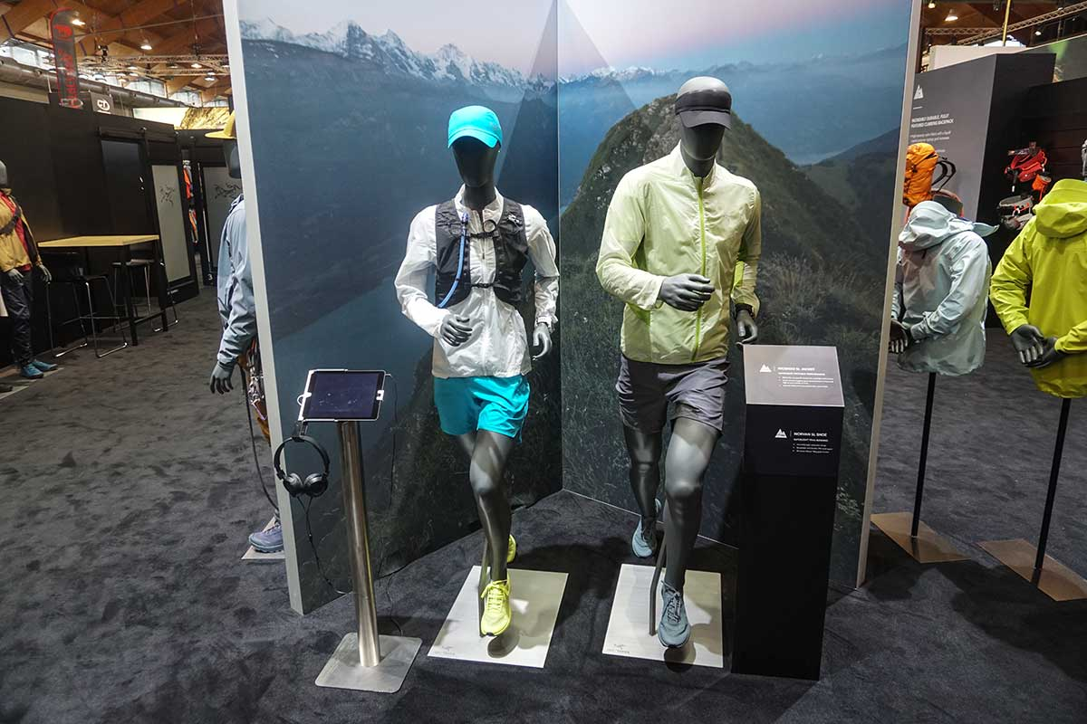 Arcteryx trail runová výbava