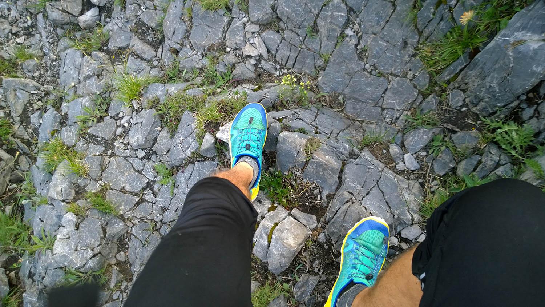 Barefoot tenisky Vivobarefoot Trail Freak v akcii