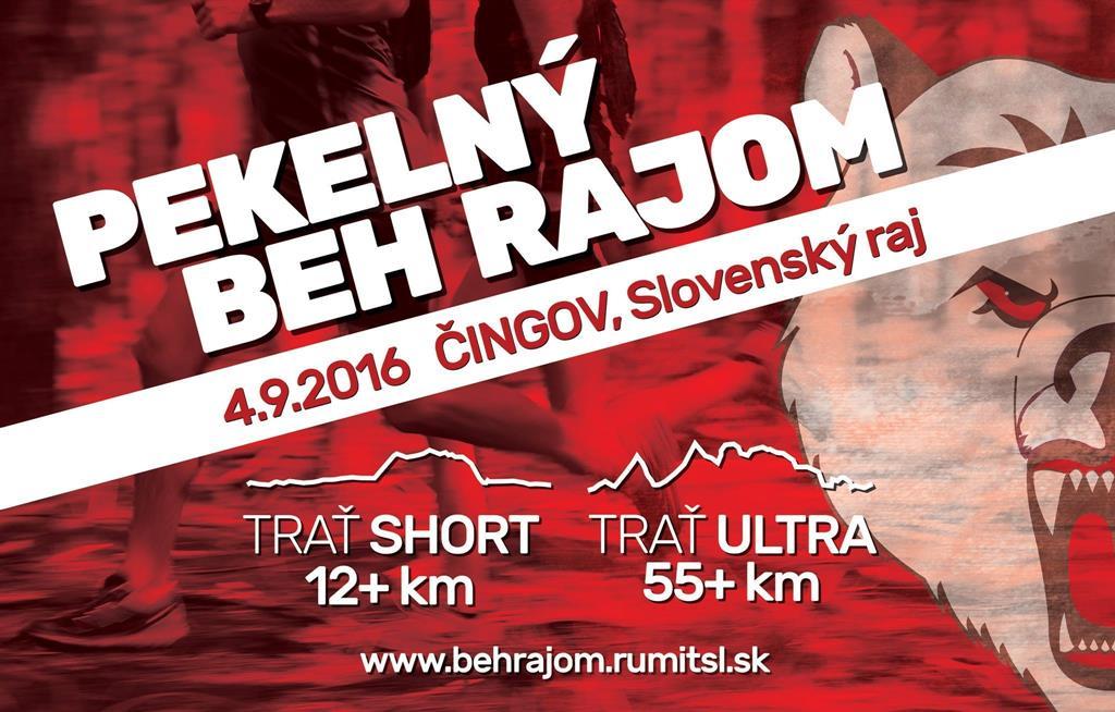 Expresky z hôr 26 - Pekelný beh Rajom 2016, zroj: behrajom.rumitsl.sk