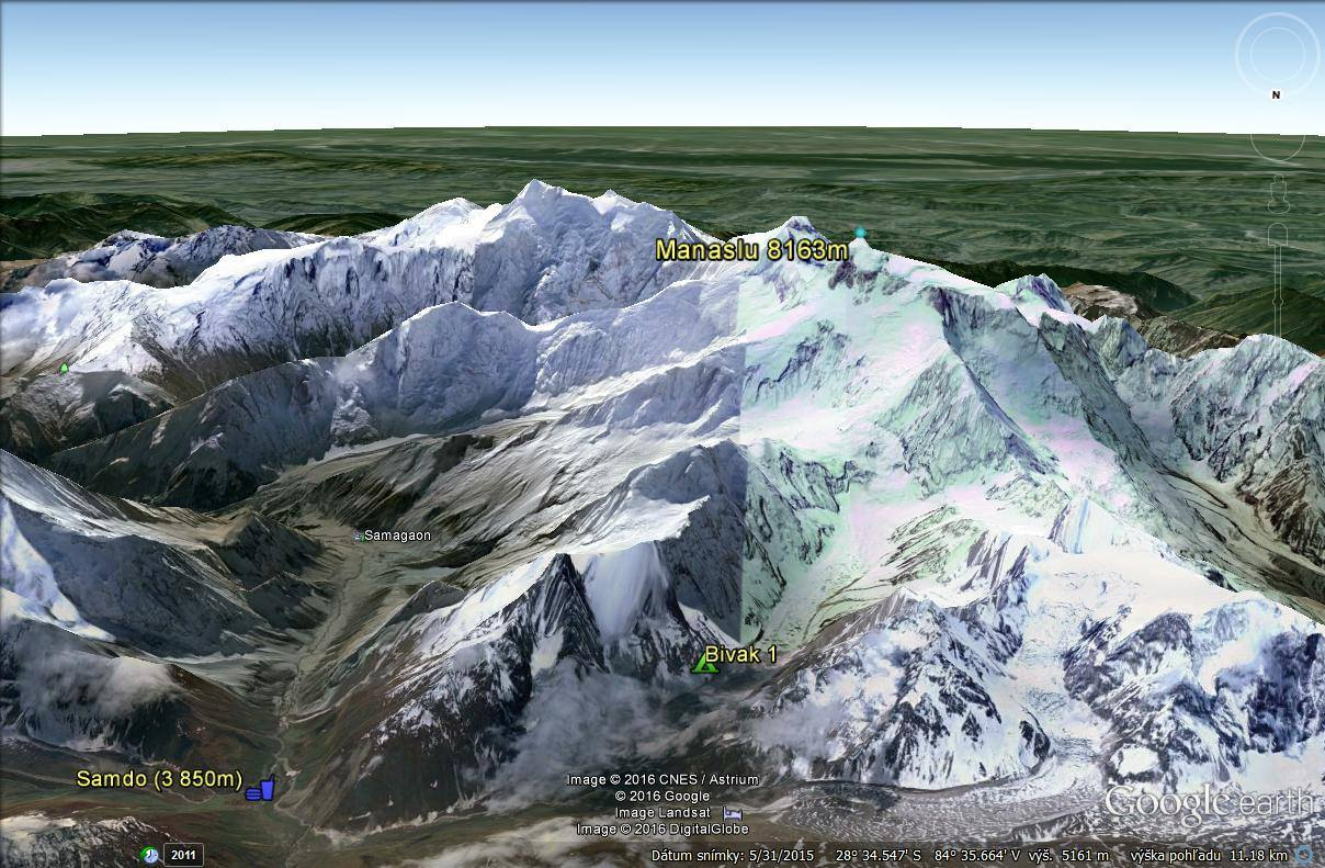 Expresky z hôr 11: Chalani sú v bivaku, pod Manaslu, zdroj: Peter Hámor FB fanpage