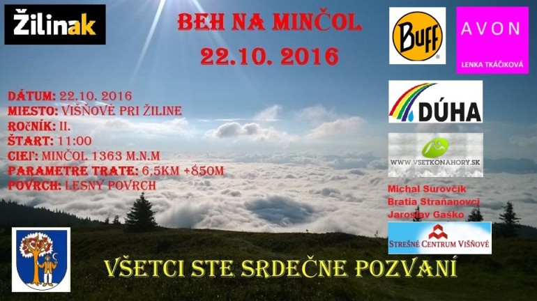 Expresky z hôr 33 - Beh na Minčol, zdroj: FB page Beh na Minčol