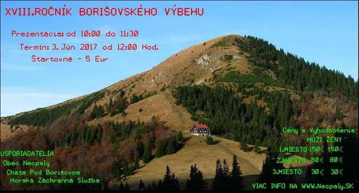 Expresky z hôr 64 - Borišovský výbeh 2017, zdroj: necpaly.sk