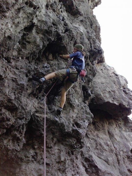 Paťo na skale