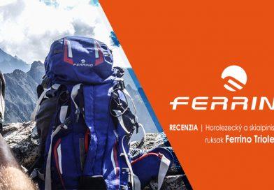 Outdoor recenzia: Ferrino Triolet 32 + 5 horolezecký ruksak, na ktorý dáte aj skialpy