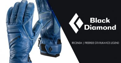 Black Diamond Freeride rukavice Legend s gtx membránou