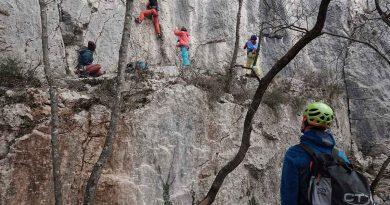 lezecká oblasť črni kal