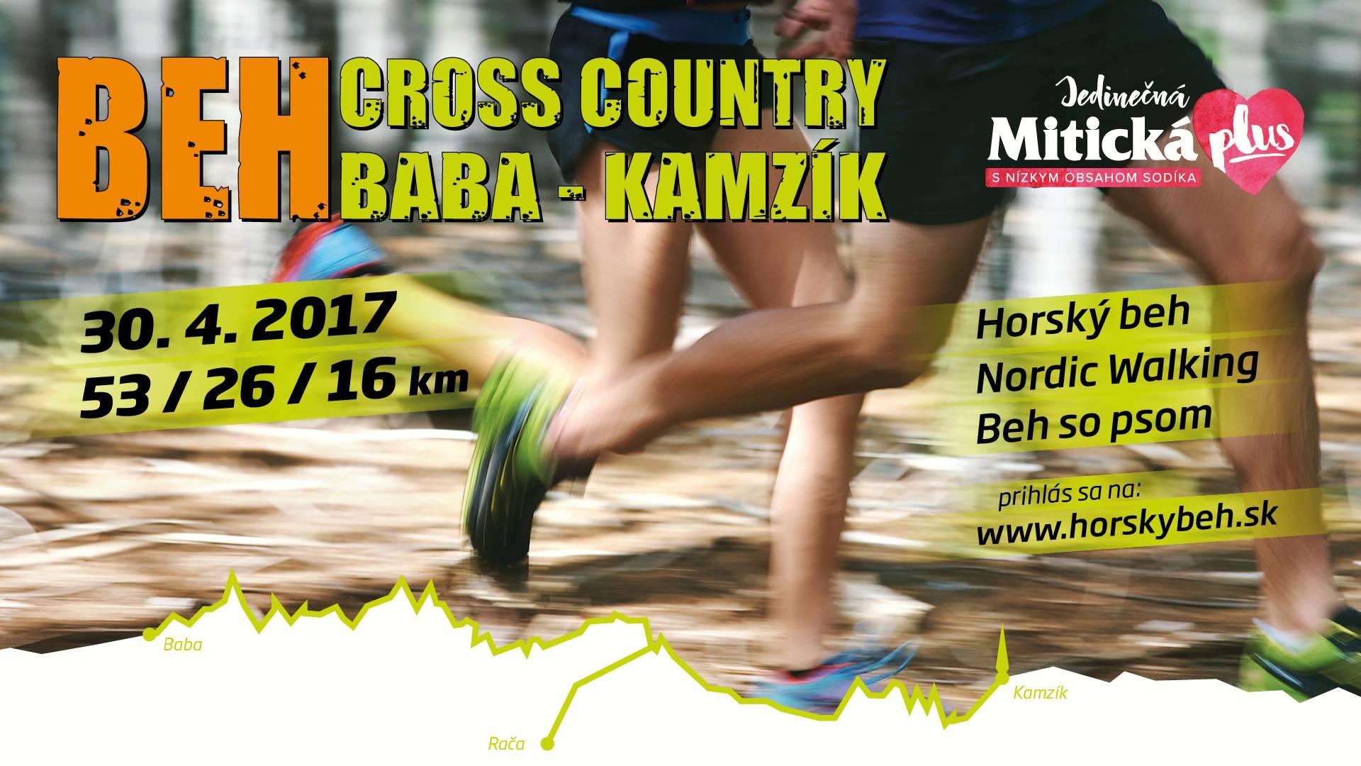 Expresky z hôr 59 - Cross Country Baba-Kamzík s Mítickou, zdroj: FB event