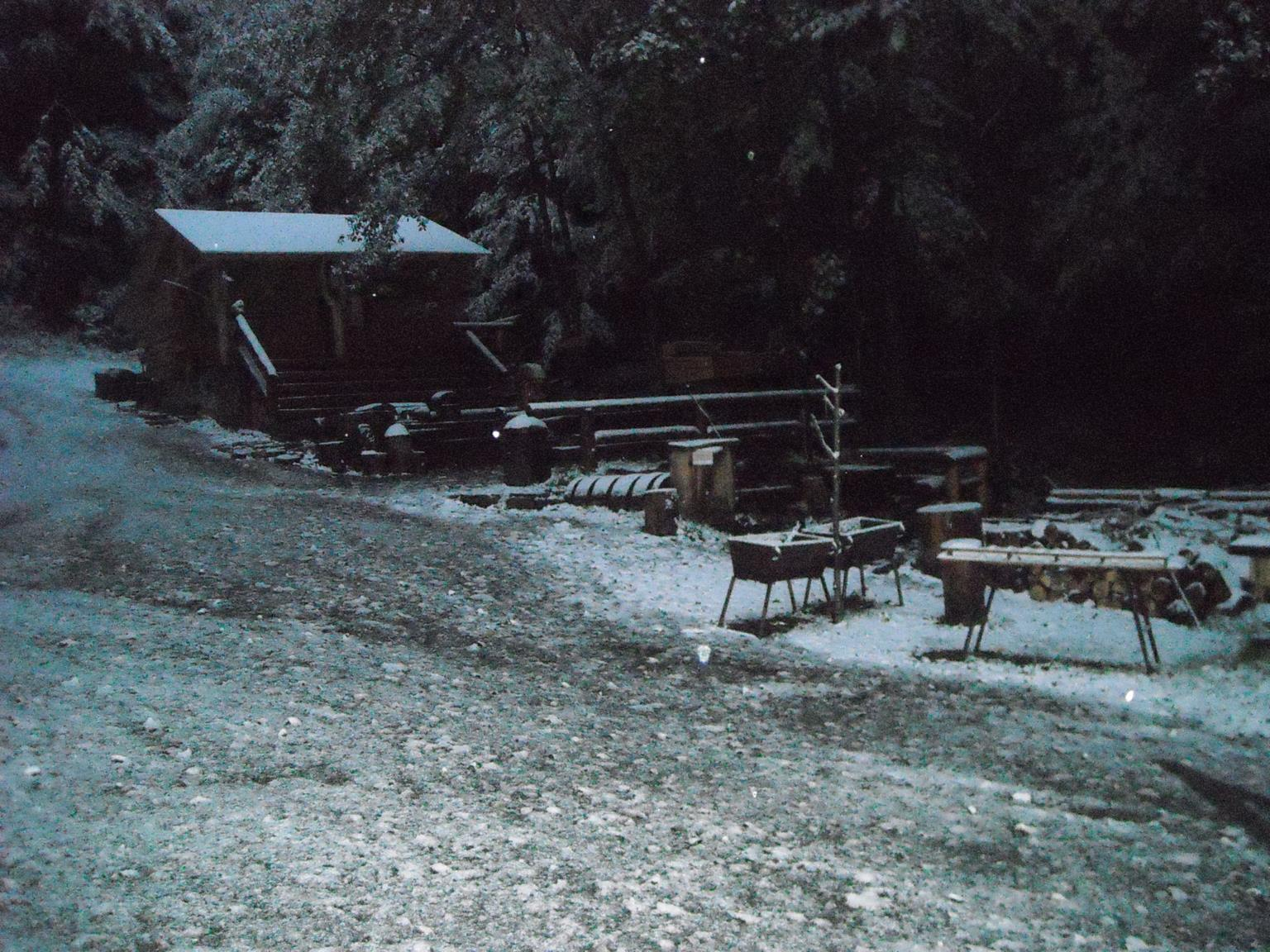 Lesní bar v roku 2009, zdroj: zdroj: lesnibar.wordpress.com