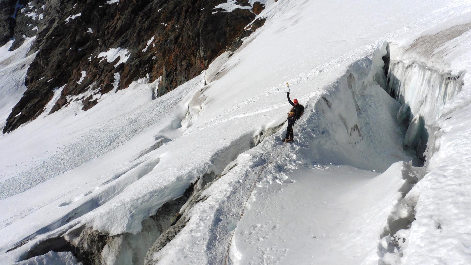 Dachstein II - Užívame trhlinky v ľadovci a mostíky