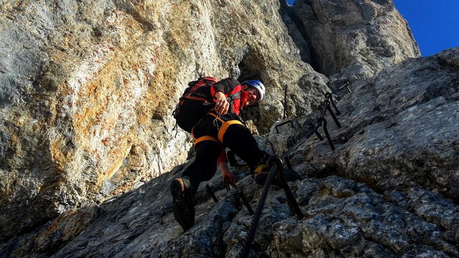 Dachstein II - Robíme nástup na ľadovec s úsmevom