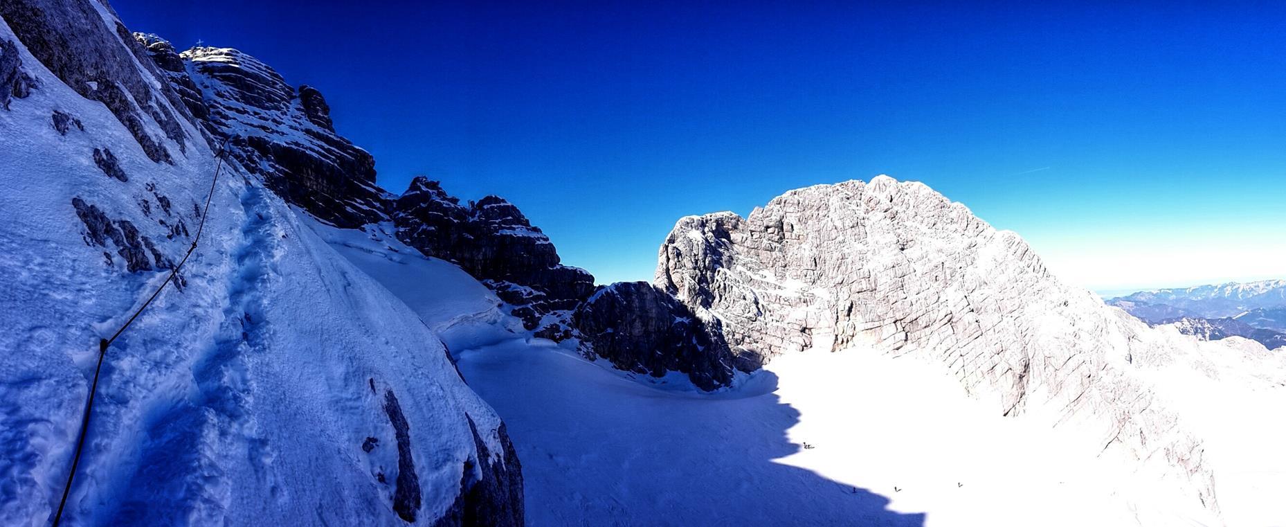 Dachstein II - Tentokrát sa nám vrchol priam núka