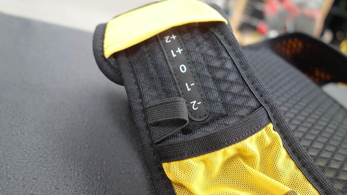 Posuvný systém veľkosti na tomto bežeckom batohu