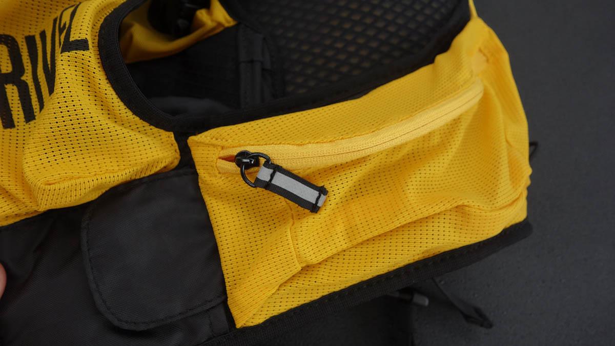 Bederný pás s vreckami bežeckého batohu