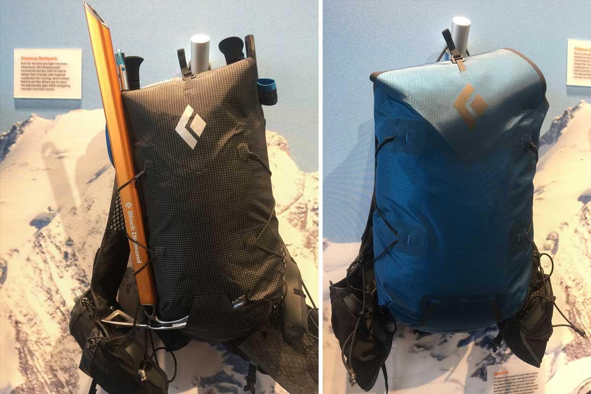 Univerzálny alpinistický ruksak s prvkami trailového batohu