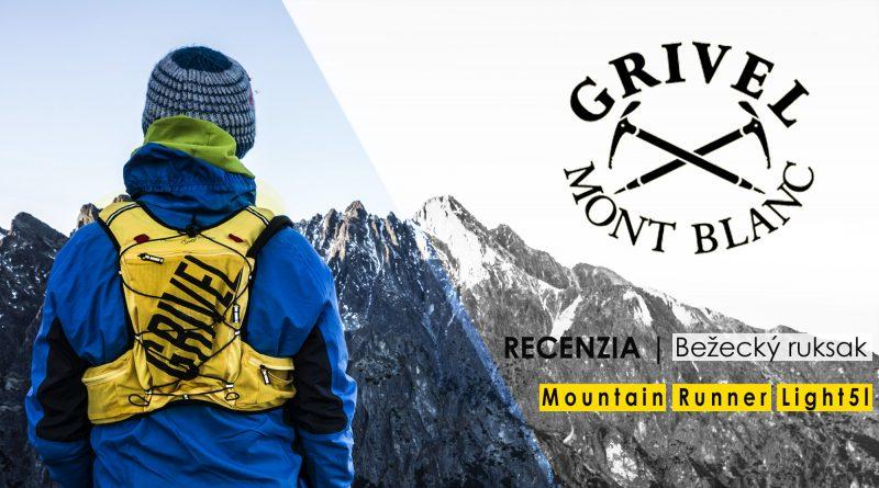 Bežecký batoh Grivel Mountain Runner light