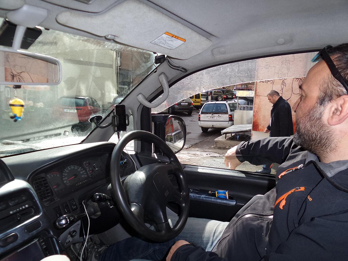 Vodič Gigi v Tbilisi