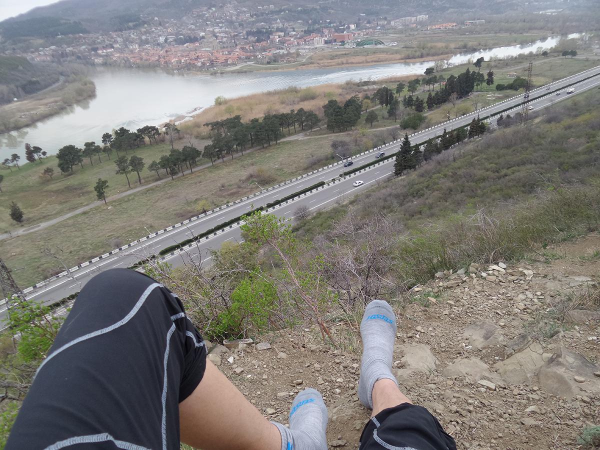 Výhľad na Gruzínsku krajinu