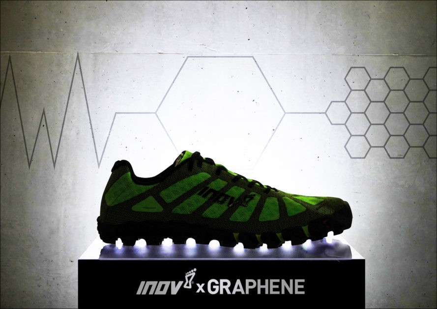 invo-8 graphene materiál v trail runovom svete
