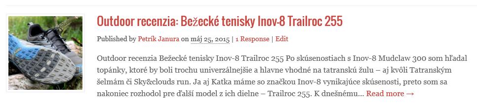 Inov-8- trail roc 255 recenzia