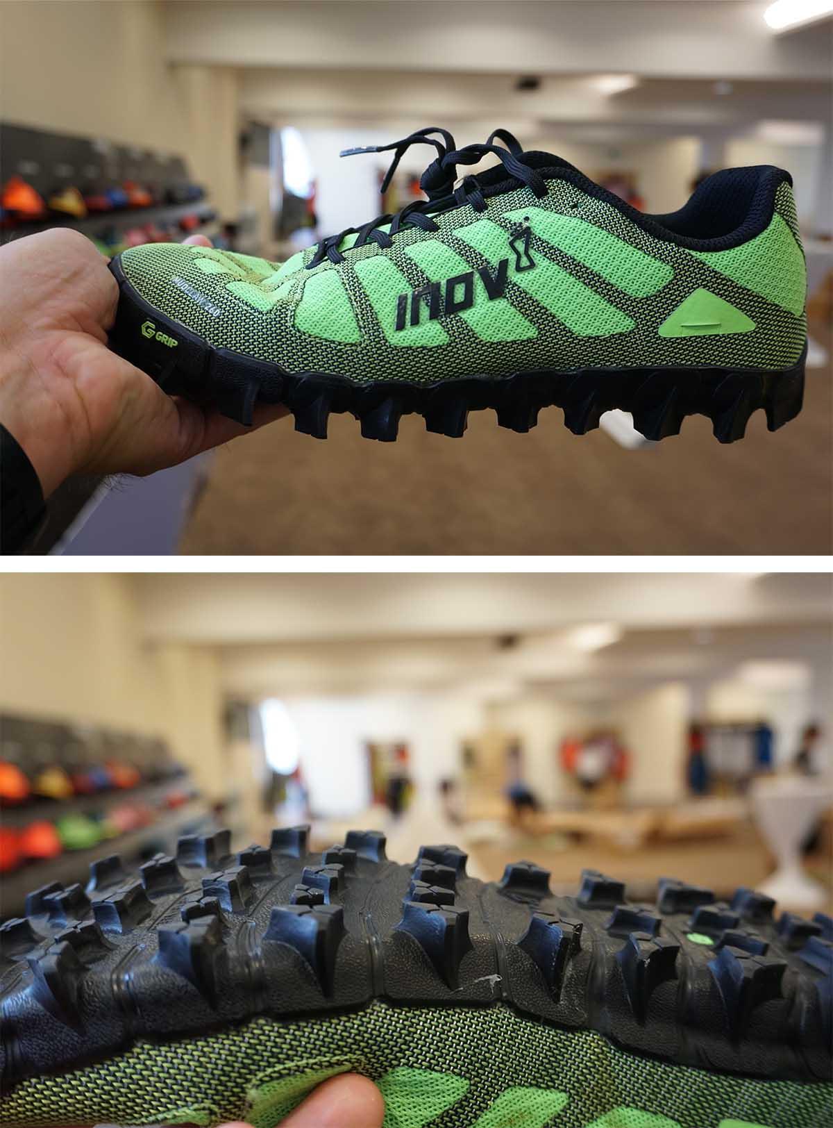 Trailrunová obuv Inov8 s integrovanou graphene technológiou v podrážke
