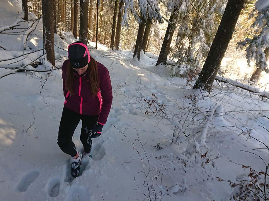 Karitraa zimné bežecké elasťáky