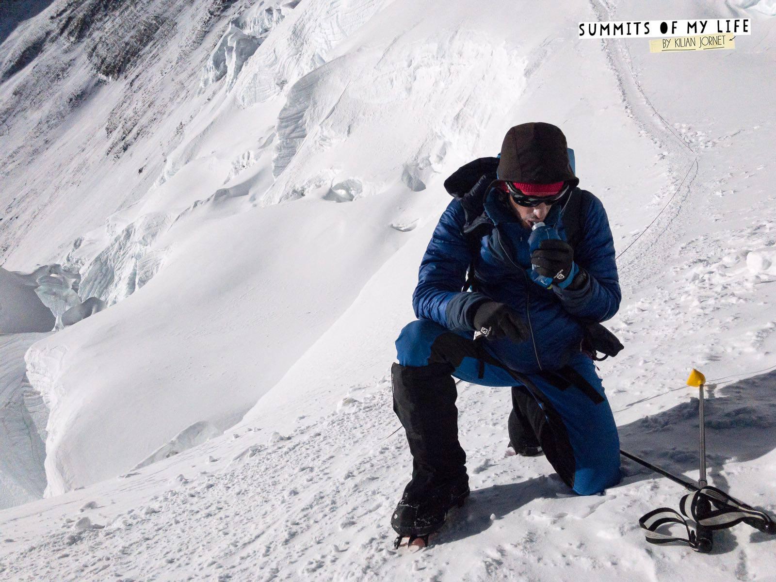 Expresky z hôr 63 - Everest za 26 hodín, zdroj: FB page Kilian Jornet