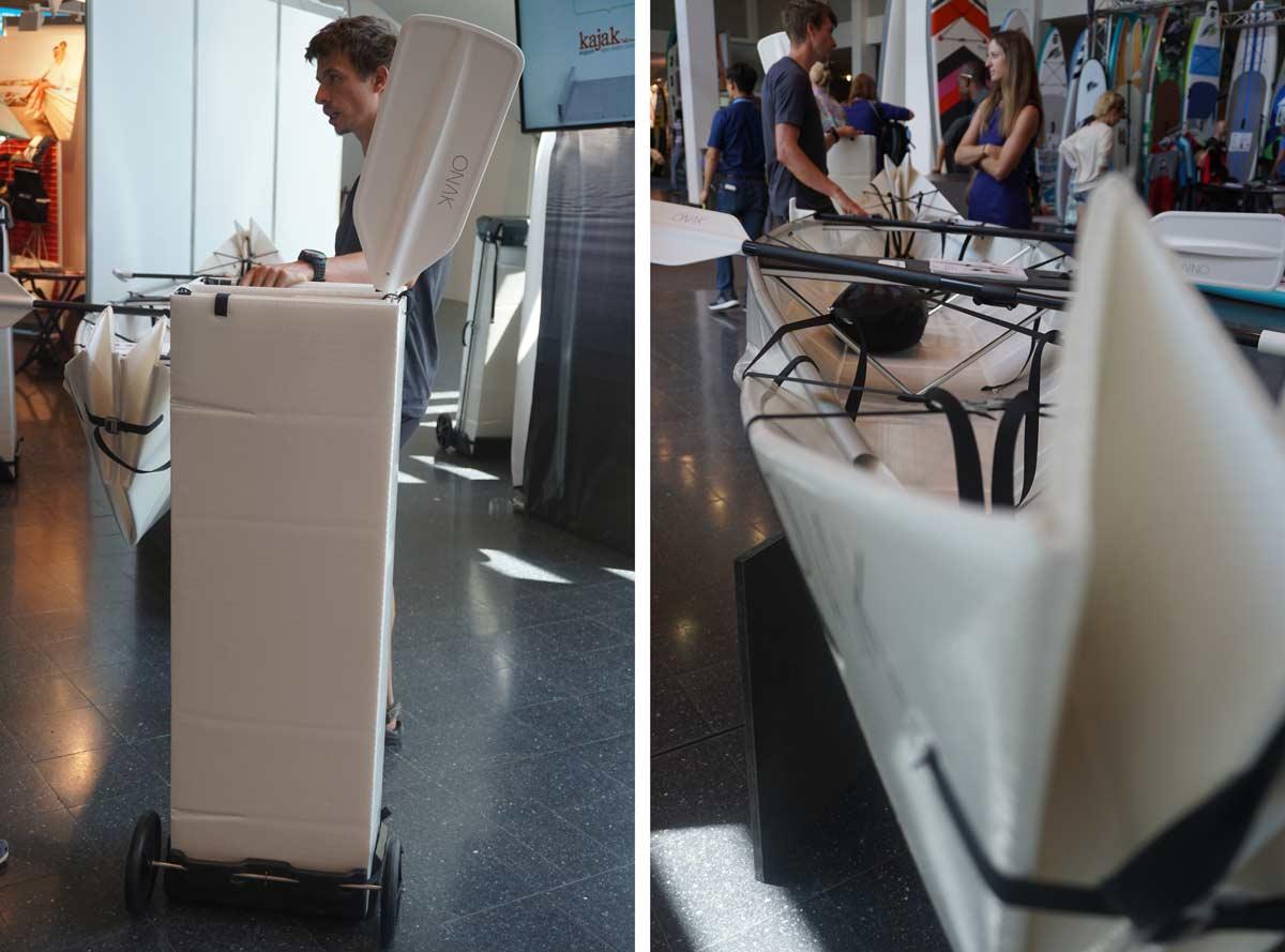 Skladateľný čln ONAK je vyrobený z recyklovaných plastov | člny
