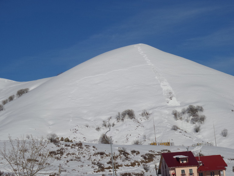 lavina v gruzinsku
