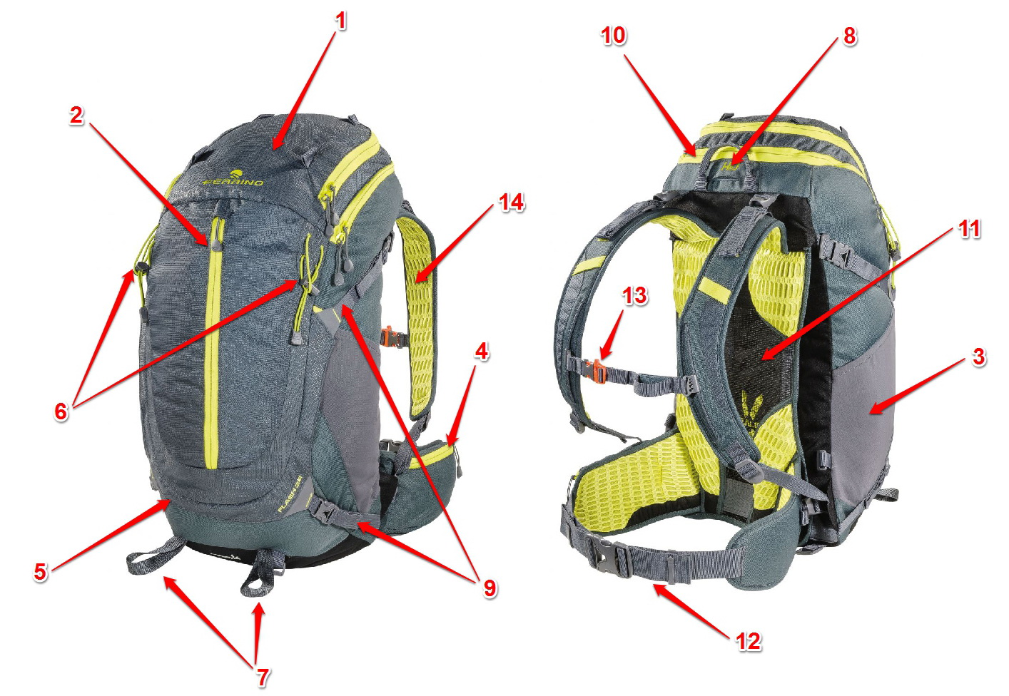 Turistický batoh Ferrino Flash 32