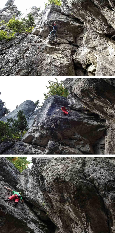 Lezecká cesta v lezeckej oblasti Komjatná