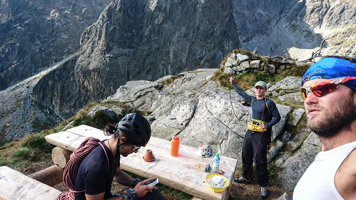 maly hrot lezecká cesta kút