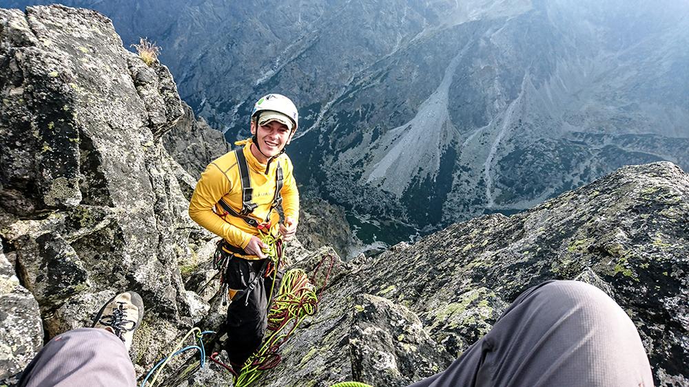 štvrtý štand na vrchole Malého Hrotu