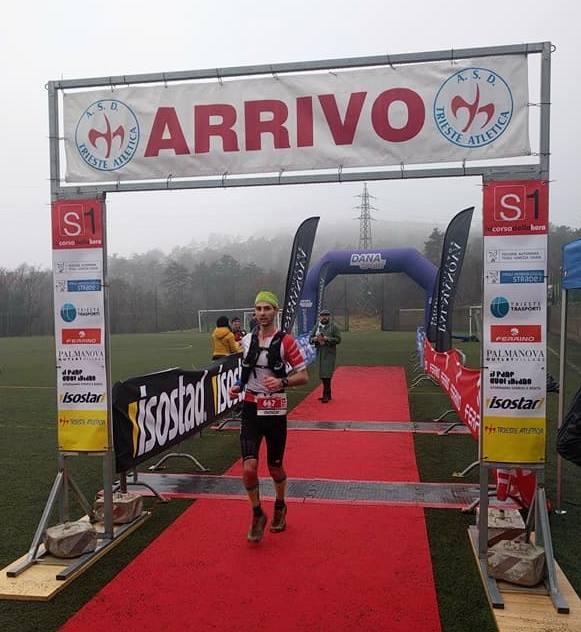 Expresky z hôr 95 - Martin Halász na Trail La Corsa della Bora 2018, zdroj: FB page Slovak Ultra Trail